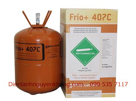 Gas frio r407